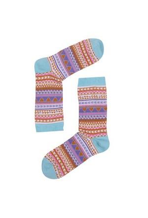 The Socks Company Ethnic Desenli Kadın Çorap 36-40 Numara