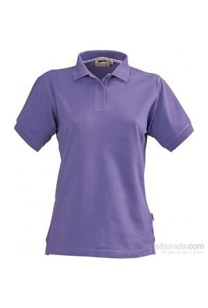 Pf Concept 33S03352 Bayan Polo T Shirt - Mor Renk Medium