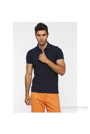 Cazador Lacivert Erkek Polo Yaka T-Shirt