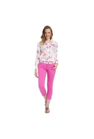 U.S. Polo Assn. Kadın Pembe Pantolon