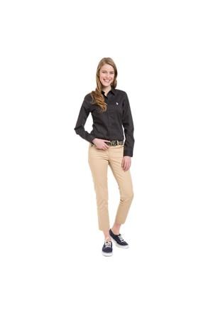 U.S. Polo Assn. Kadın Bej Pantolon