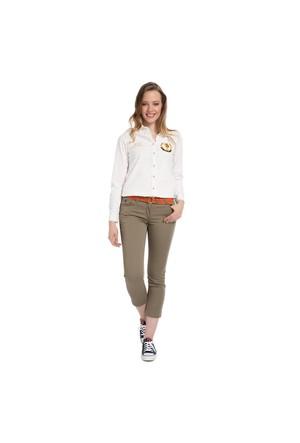 U.S. Polo Assn. Kadın Yeşil Pantolon