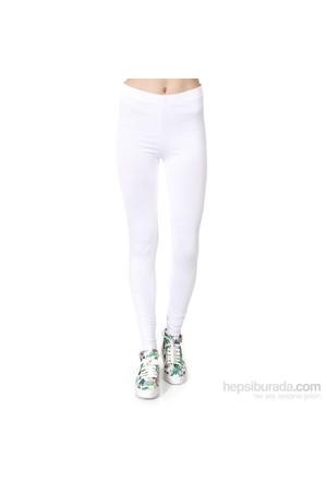 Wotto Collection Kadın Tayt Beyaz
