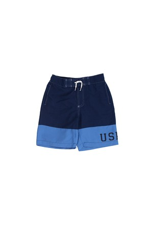 U.S. Polo Assn. G083cs066.P01.Y4361.313 Mavi Deniz Şortu