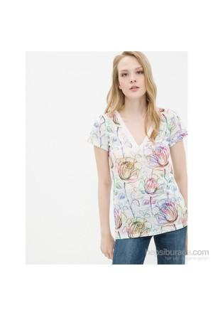 Koton Lila T-Shirt