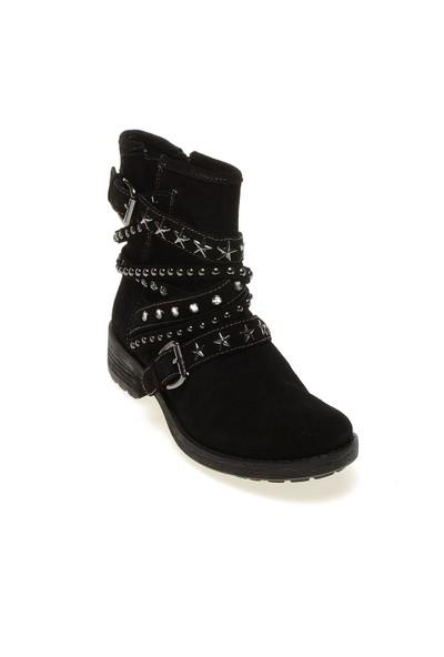 Pretty Nana Sara Crosta 632038 Kadın Ayakkabı Siyah