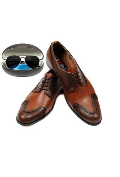 Eray Taba Renkli Erkek Ayakkabısı Güneş Gözlüğü