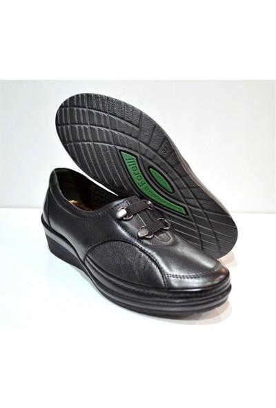 Forelli Kadın Günlük Deri Ortopedik Kalıp Ayakkabı 26201