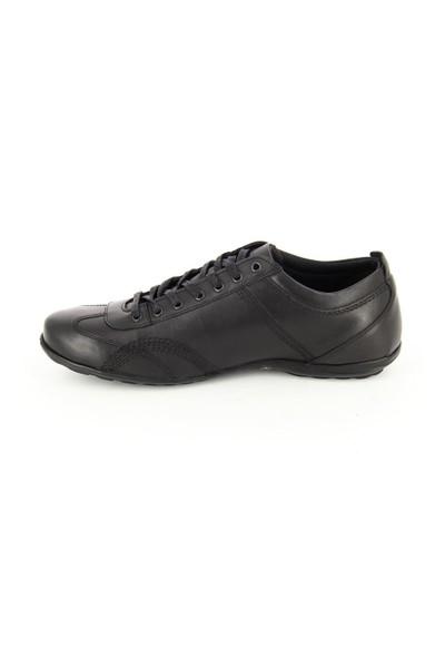 Scooter Siyah Deri Günlük Ayakkabı 022301290