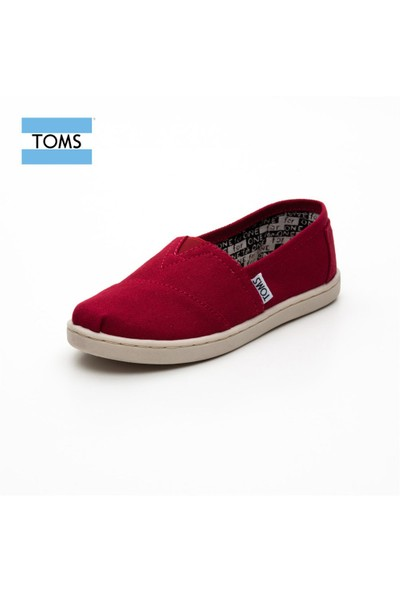 Toms 012001C13 Red Canvas Red
