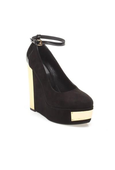Bryanna John Richmond 1841 Kadın Ayakkabı Cam Negro Ver Nero Gold