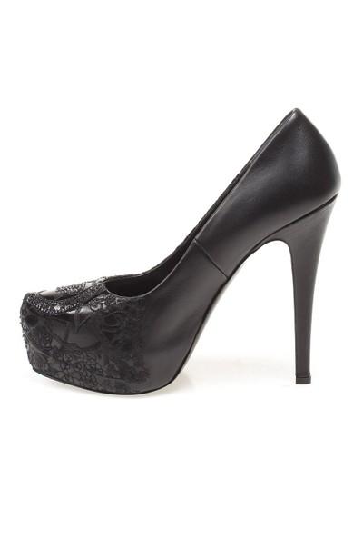 Well John Richmond 1826 Kadın Ayakkabı Vıtello Nero