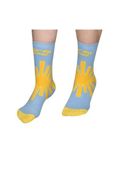 The Socks Company Sunshine Desenli Kadın Çorap 36-40 Numara