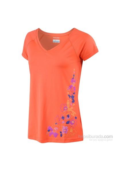 Columbia Saturday Trail Graphic Ss Knit Shirt Kadın T-Shirt