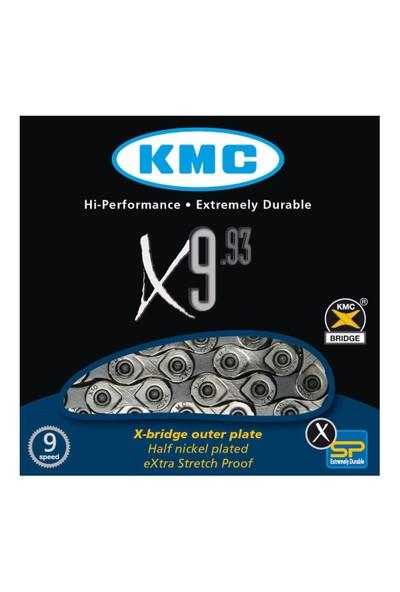 Kmc Zincir X 9.93 9 Vites Uyumlu Nikel Kaplamalı Krom