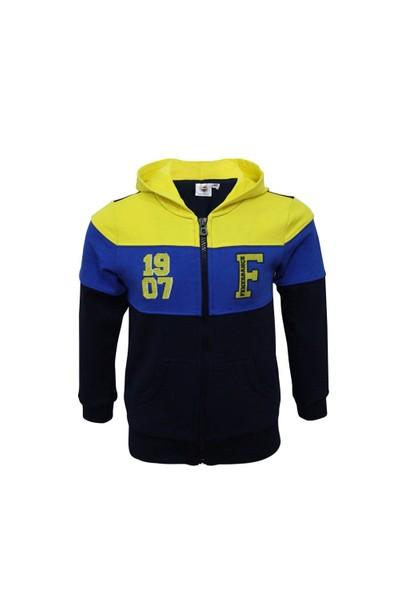 Fenerbahçe Lisanslı Unisex Bebek Sweatshirt Lacivert
