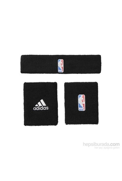 Adidas G68791 Nba Wb+Hb Unısex Basketbol Bileklik Siyah