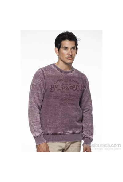 Blue Petrol Sweatshirt Bordo