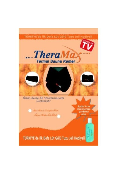 Theramax Thermal Sauna Kemer (200ml Termal Jel Hediyeli)