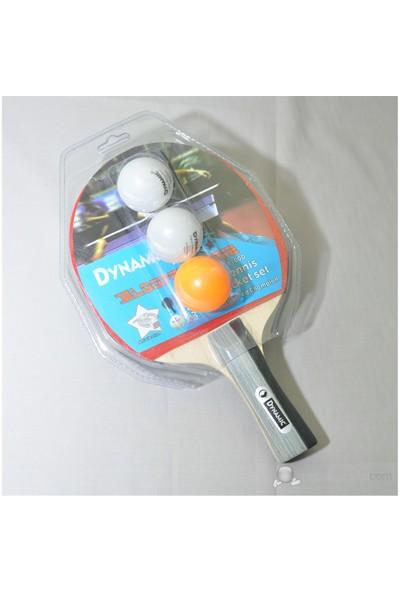 Dynamic 8100 Masa Tenis Raketi (1RAKET 3TOP)