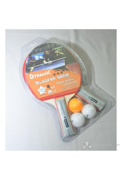 Dynamic 8500 Masa Tenis Raketi (2 Raket + 3 Top)
