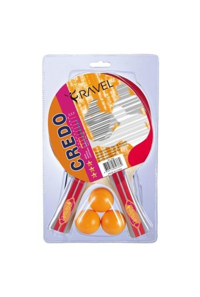Ravel Credo Twin Masa Tenisi Raket Set ( 2 Raket + 3 Top + Ağ & Demir ) – Rv 392