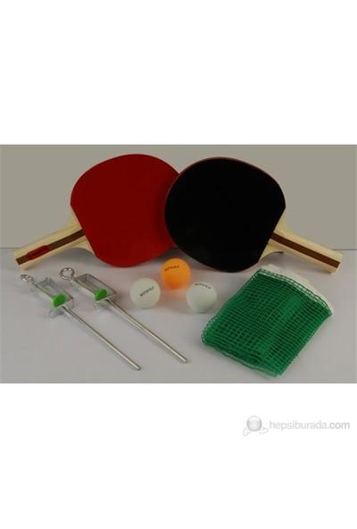 Mitsuka 3030 Masa Tenisi Seti + 2 Raket + 3 Top + Ağ - Demir Hediyeli