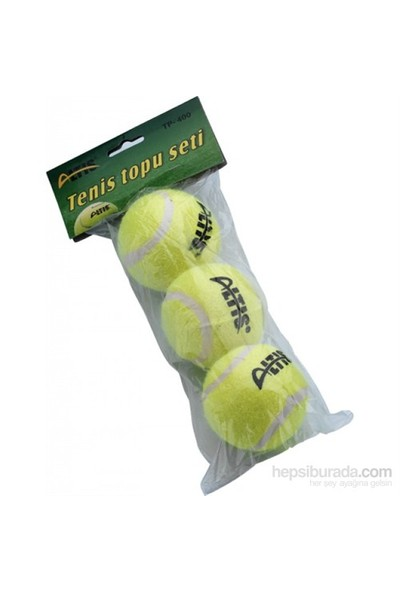 Altis TP 400 Tenis Topu 3 'lü