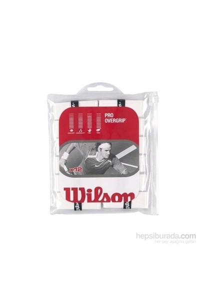 Wilson Wrz 4016 Wh Pro Overgrıp Beyaz 12 Li Paket