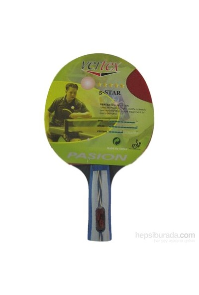 Vertex Passion Ittf Onaylı Masa Tenisi Raketi