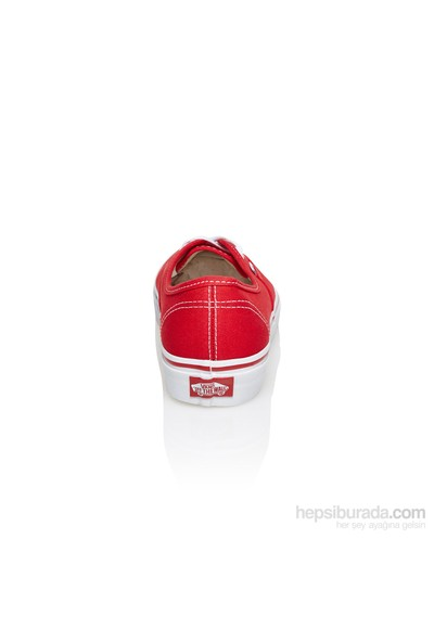 Vans Authentic Vee3 Red Spor Ayakkabı