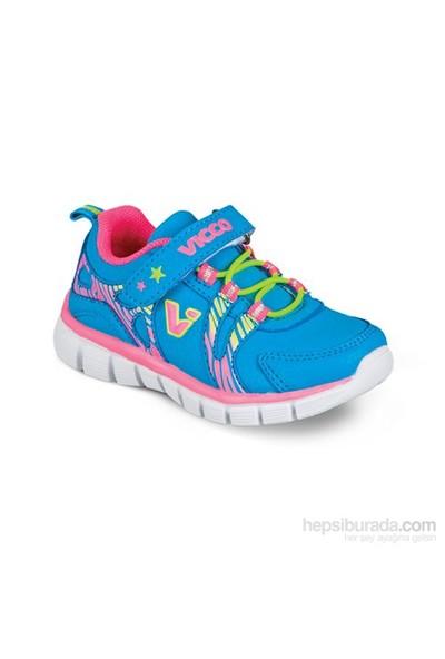Vicco Cırtlı Spor Ayakkabı Mavi