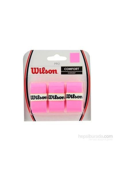 Wilson Pembe Aksesuarlar Wrz4014Pk Pro Overgrip Pembe 3 Lu Paket
