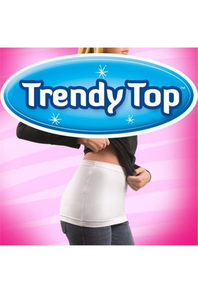 Buffer Trendy Top Wrap Bel Kapatıcı