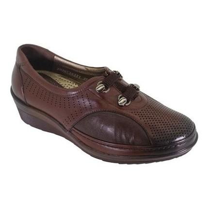 Forelli 26221 Kahverengi Kadın Günlük Ortopedik Ayakkabı