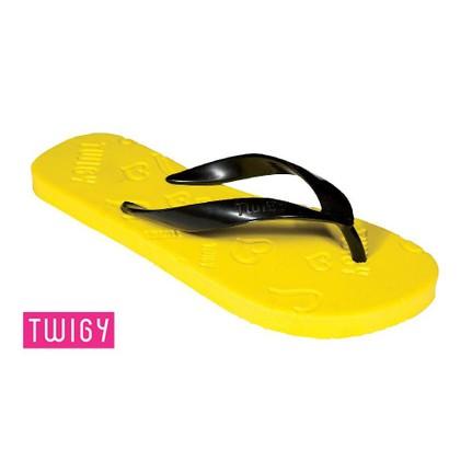Twigy Renga 6 Sarı Parmak Arası Kadın Terlik