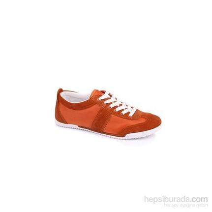 Lotto Helen W N6163  Turuncu - Beyaz Kadın Günlük Ayakkabı