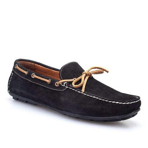Cabani Makosen Günlük Erkek Ayakkabı Siyah Nubuk
