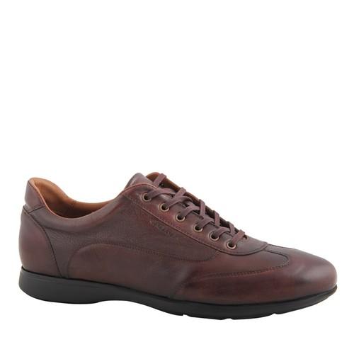 Cabani Bağcıklı Günlük Erkek Ayakkabı Kahve Deri