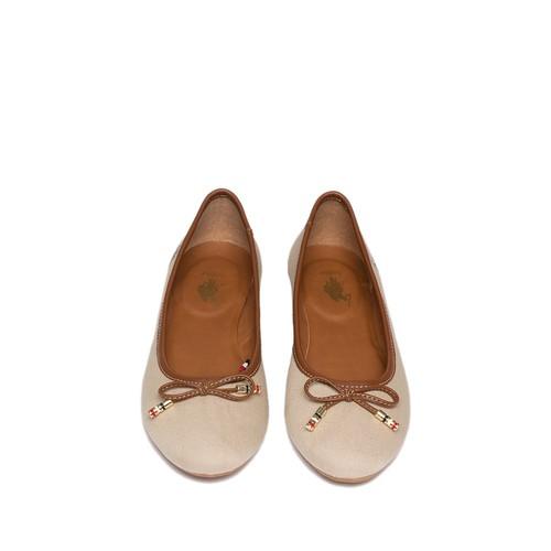 U.S. Polo Assn. Kadın Bej Ayakkabı