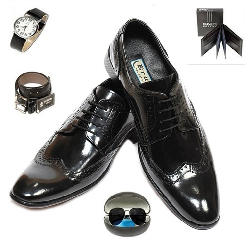 Eray Erkek Ayakkabısı Gözlük Saat Cüzdan Kemer