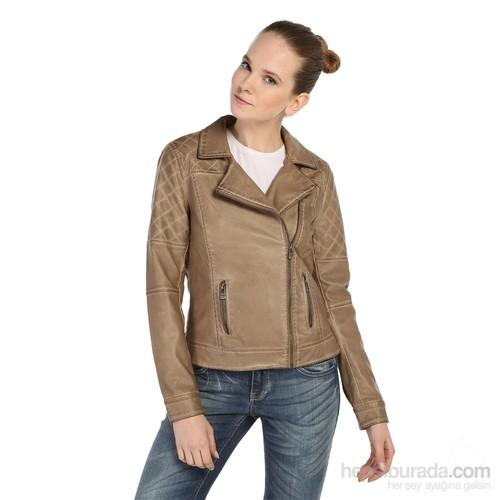 Only Deri Ceket Rosalina Biker 15087375-Smı