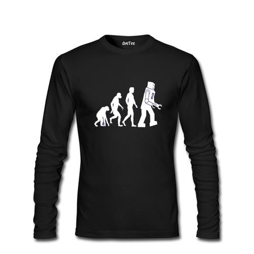 Dyetee Sheldon Evolution Erkek T-Shirt