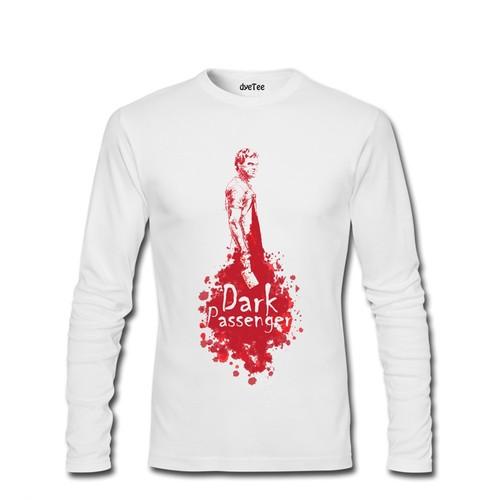 Dyetee Dark Side Erkek T-Shirt