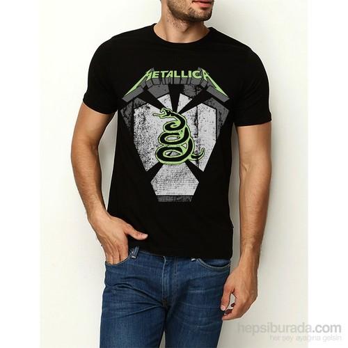 Köstebek Metallica-Snake Erkek T-Shirt