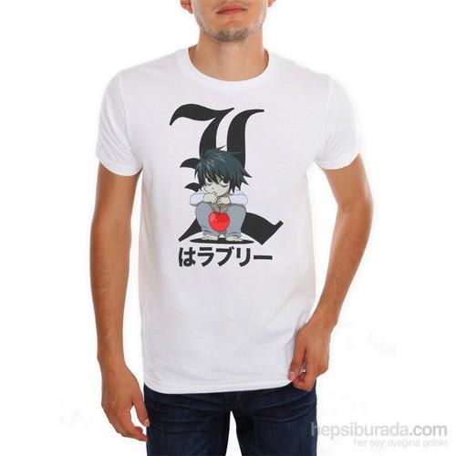 Köstebek Death Note Mini L Erkek T-Shirt