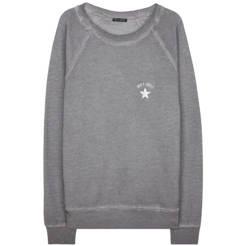 My T-Shirt Yıldız Detaylı Basic Sweatshirt