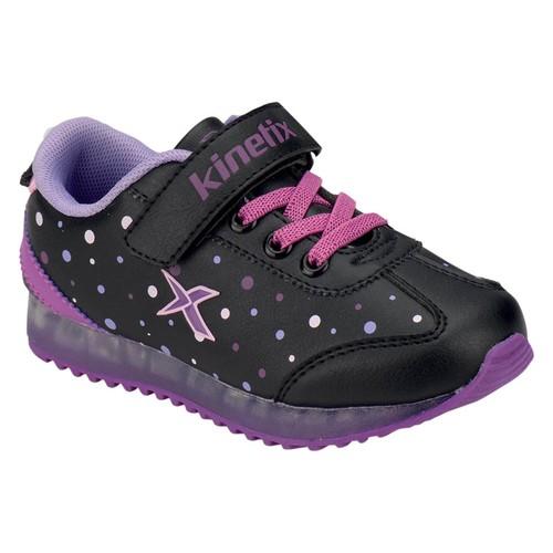 Kinetix 1254540 Siyah Mor Lila Kız Çocuk Sneaker