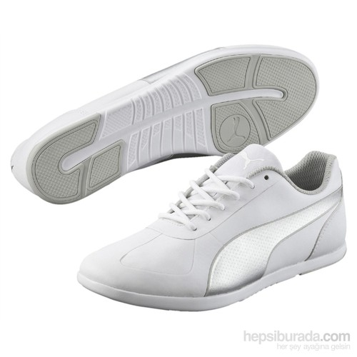 Puma Modern Soleil Sl White- Silver Kadın Spor Ayakkabı