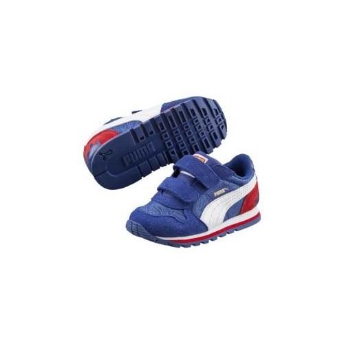 Puma St Runner Superman Çocuk Mavi Spor Ayakkabısı (359090-011)